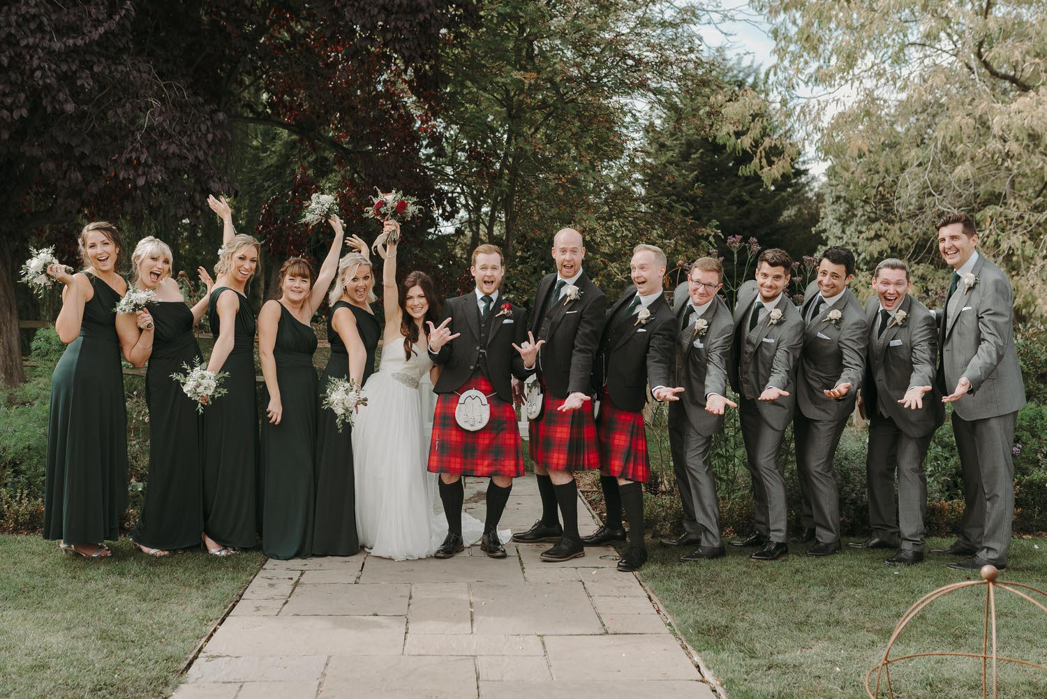 Image taken by Houchins wedding photographer of a wedding at Houchins wedding venue in Essex