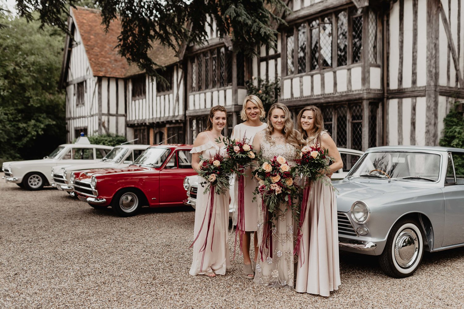Image of wedding photography taken by a Hadleigh wedding photographer in the Suffolk area, photographing an outdoor wedding at Priory Hall in Hadleigh, Suffolk.