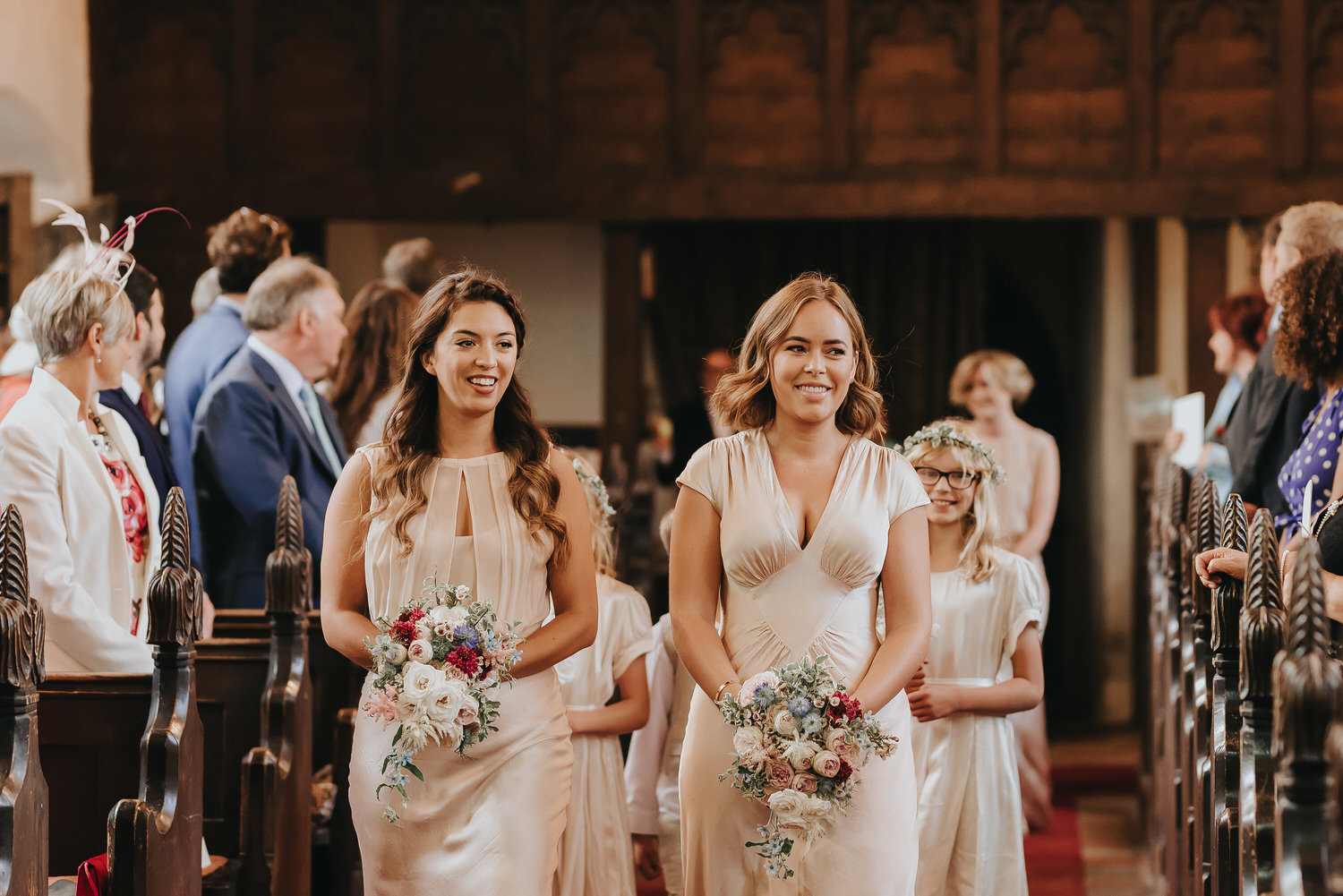 Image of a wedding taken by a Norfolk farm wedding photographer that has a fun and relaxed style photographing farm weddings in the Norfolk and Suffolk area.